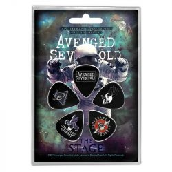 AVENGED SEVENFOLD - The Stage (5 db pengető, 1 mm vastag)