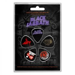 BLACK SABBATH - Purple Logo (5 db pengető, 1 mm vastag)