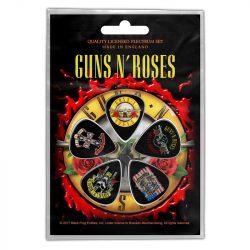 GUNS N' ROSES - Bullet Logo (5 db pengető, 1 mm vastag)
