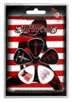 MÖTLEY CRÜE - Red, White & Crue (5 db pengető, 1 mm vastag)