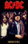 AC/DC: Highway To Hell (zászló, 70x106 cm)