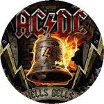 AC/DC: Hells Bells (nagy jelvény, 3,7 cm)
