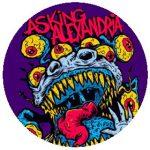 ASKING ALEXANDRIA: Eyeballs (nagy jelvény, 3,7 cm)