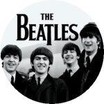BEATLES: 1964 B/W (nagy jelvény, 3,7 cm)