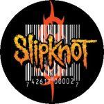 SLIPKNOT: Barcode (nagy jelvény, 3,7 cm)