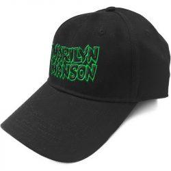 MARILYN MANSON: Logo (baseball sapka)