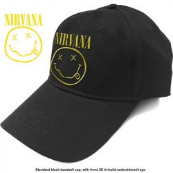 NIRVANA: Logo Smiley (baseball sapka)