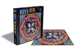 KISS: Rock And Roll Over (puzzle, 500 pcs, 39x39 cm)