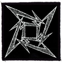 METALLICA: Ninja Logo (95x95) (felvarró)