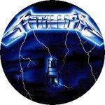 METALLICA: Ride The Lightning (nagy jelvény, 3,7 cm)