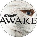 SKILLET: Awake (nagy jelvény, 3,7 cm)