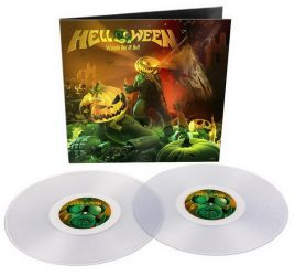 HELLOWEEN: Straight Out Of Hell (2LP, 2020 remaster, clear vinyl)