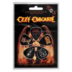 OZZY - Classic Logo (5 db pengető, 1 mm vastag)