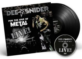 DEE SNIDER: For The Love Of Metal - Live! (2LP+DVD)