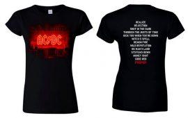 AC/DC: PWR Stage (női póló)