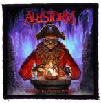 ALESTORM: Curse Of The Crystal Coconut (95x95) (felvarró)