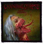 CANNIBAL CORPSE: Violence Unimagined (95x95) (felvarró)