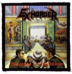 EXHORDER: Slaughter In The Vatican (95x95) (felvarró)