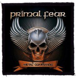 PRIMAL FEAR: Metal Commando (95x95) (felvarró)