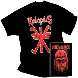 KALAPÁCS: Bűnöm a rock (póló)