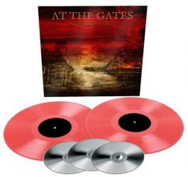 AT THE GATES: Nightmare Of Being (2LP+3CD, transparent red)