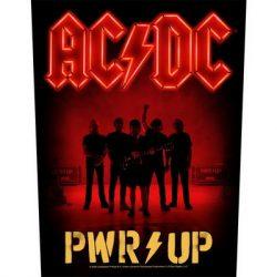 AC/DC: PWR Up (hátfelvarró / backpatch)