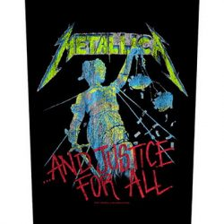 METALLICA: And Justice (hátfelvarró / backpatch)