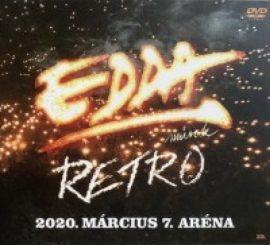 EDDA: Retro 2020.03.07. Aréna koncert (DVD)