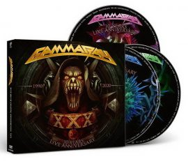 GAMMA RAY: XXX Years Live (2CD+DVD)