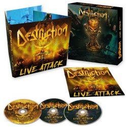 DESTRUCTION: Live Attack (2CD+Blu-ray)