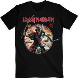 IRON MAIDEN: Senjutsu Eddie Warrior (póló)